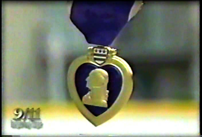 April Gallop's 9/11 Purple Heart