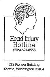Head Injury Hotline Logo